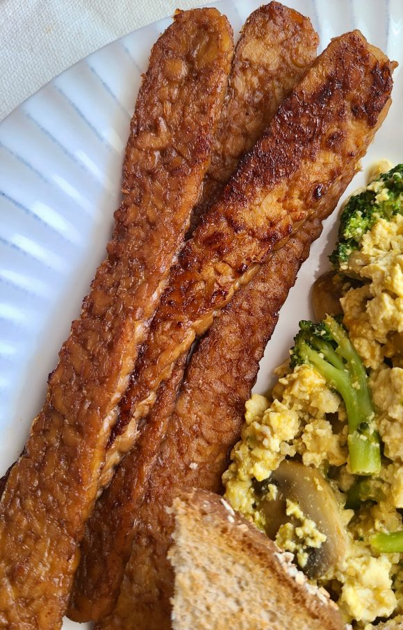 How to Make Tempeh Bacon without Liquid Smoke