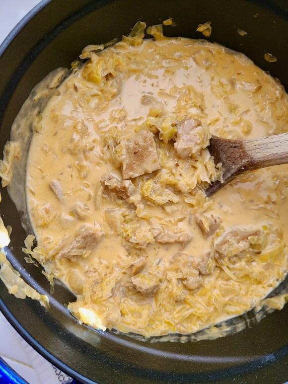 Sauerkraut Gulasch Vegan