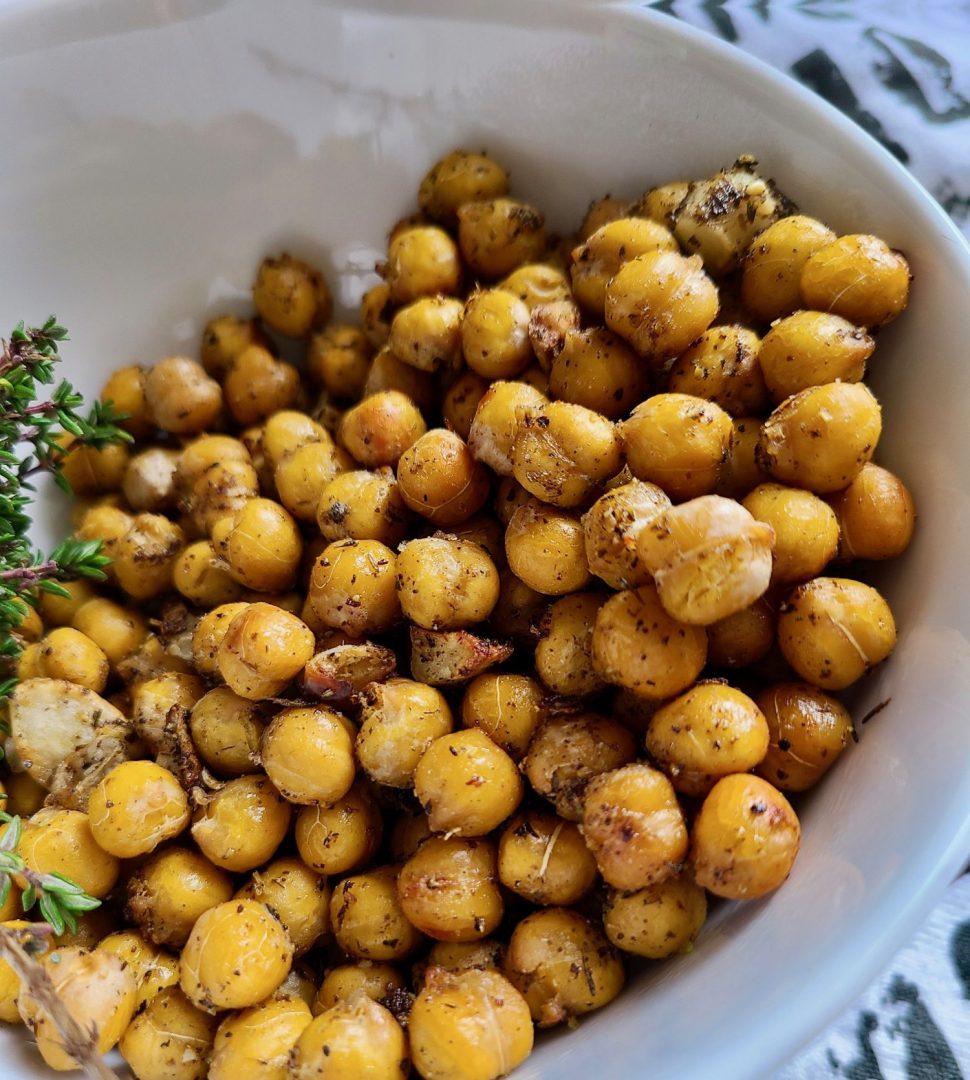 Chickpeas in Air Fryer Vegan