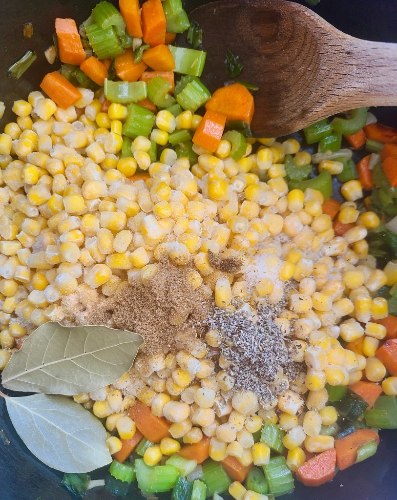 Sweet Corn Soup Recipe Vegan