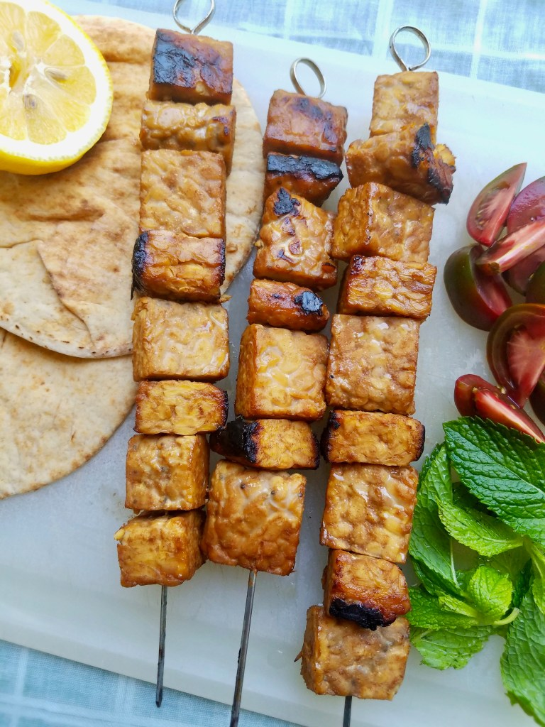 Grilled Tempeh Kebabs Recipe