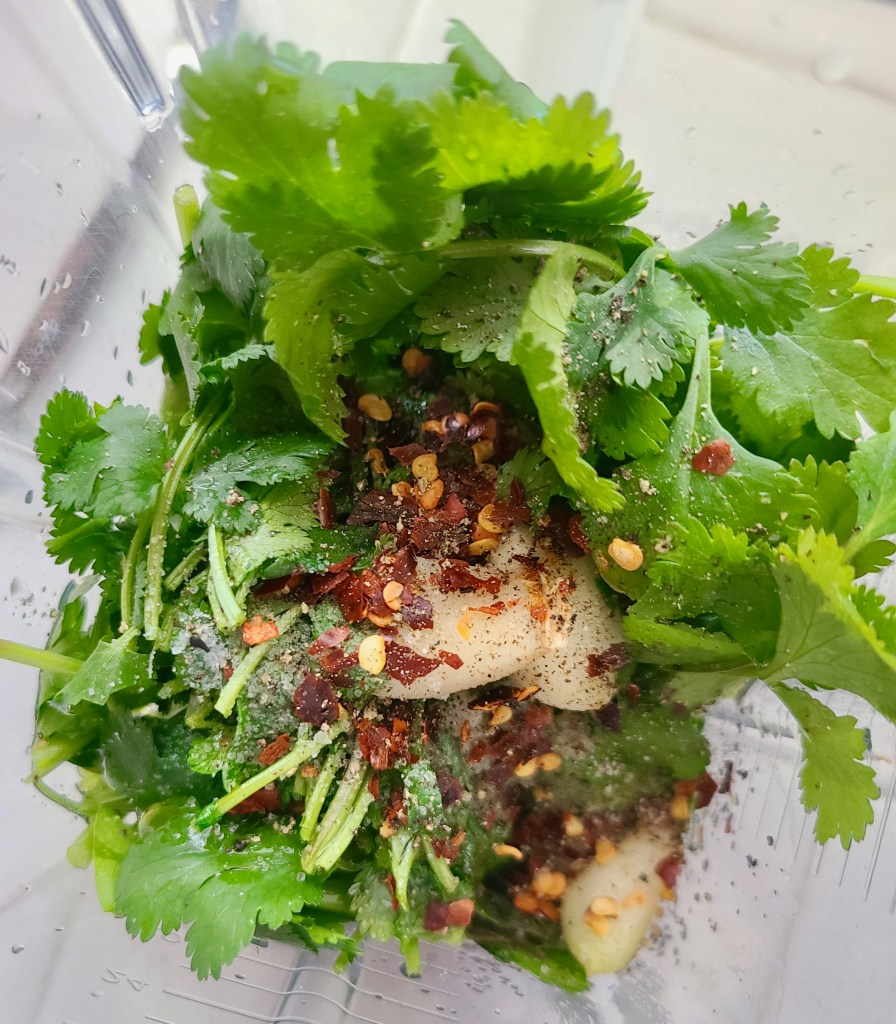 Vegan Recipes with Chimichurri