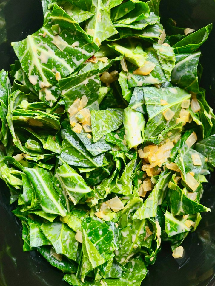 How to Make Collard Greens Vegan