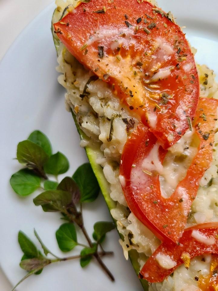 Risotto Vegan Zucchini