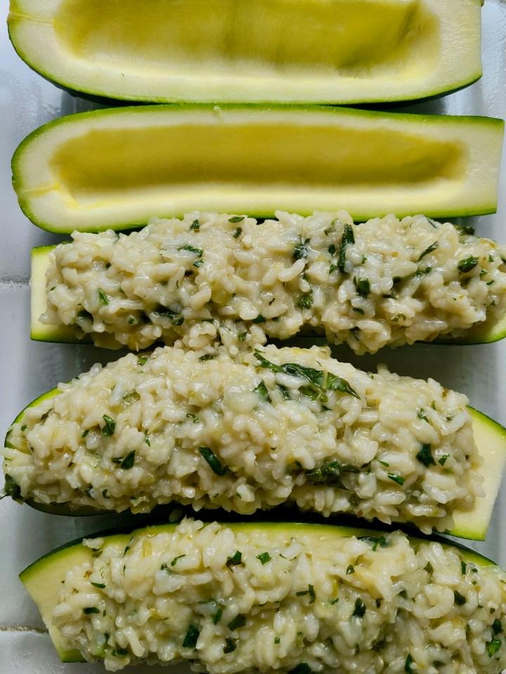 How to Make Vegan Stuffed Zucchini