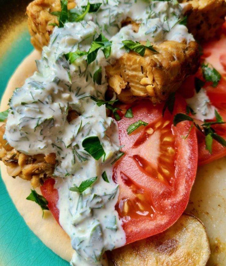 Vegan Greek Pita Recipe