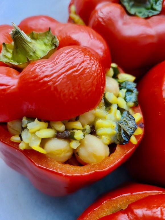 Vegan Stuffed Peppers Easy