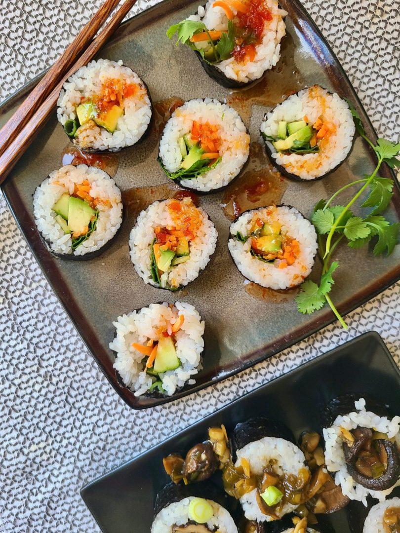 Vegan Vegetable Sushi
