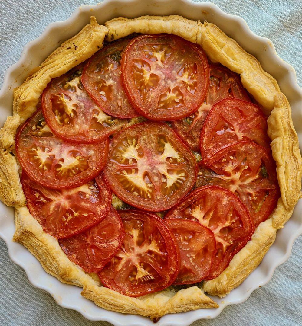 Puff Pastry Tart Tomatoes