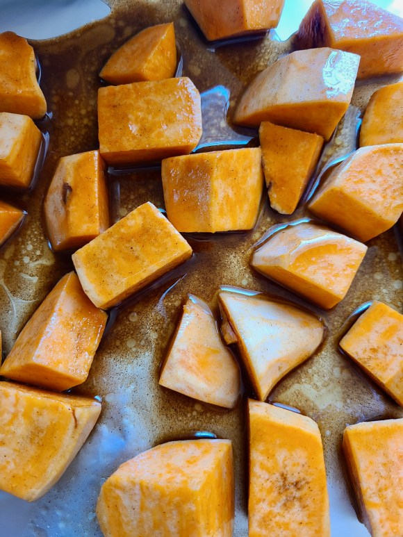 Roasted Sweet Potato Pumpkin Soup Recipe