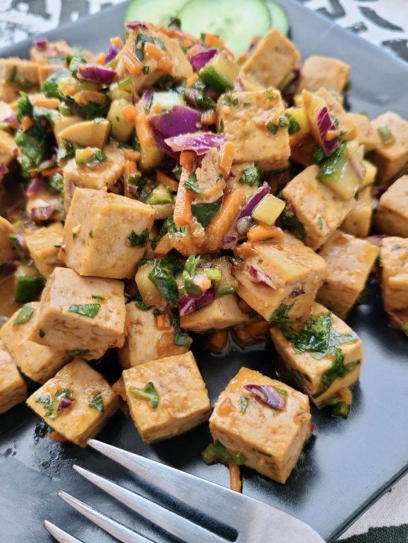 Tofu Salad No Mayo