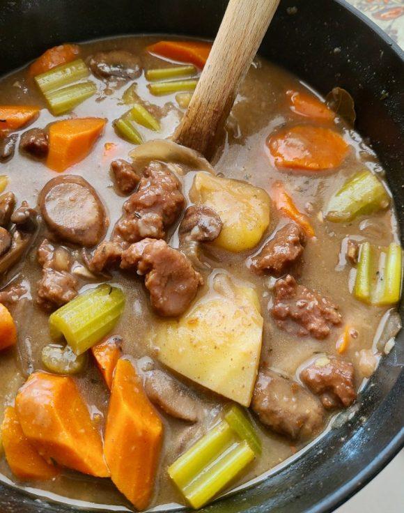 Vegan Stew Seitan