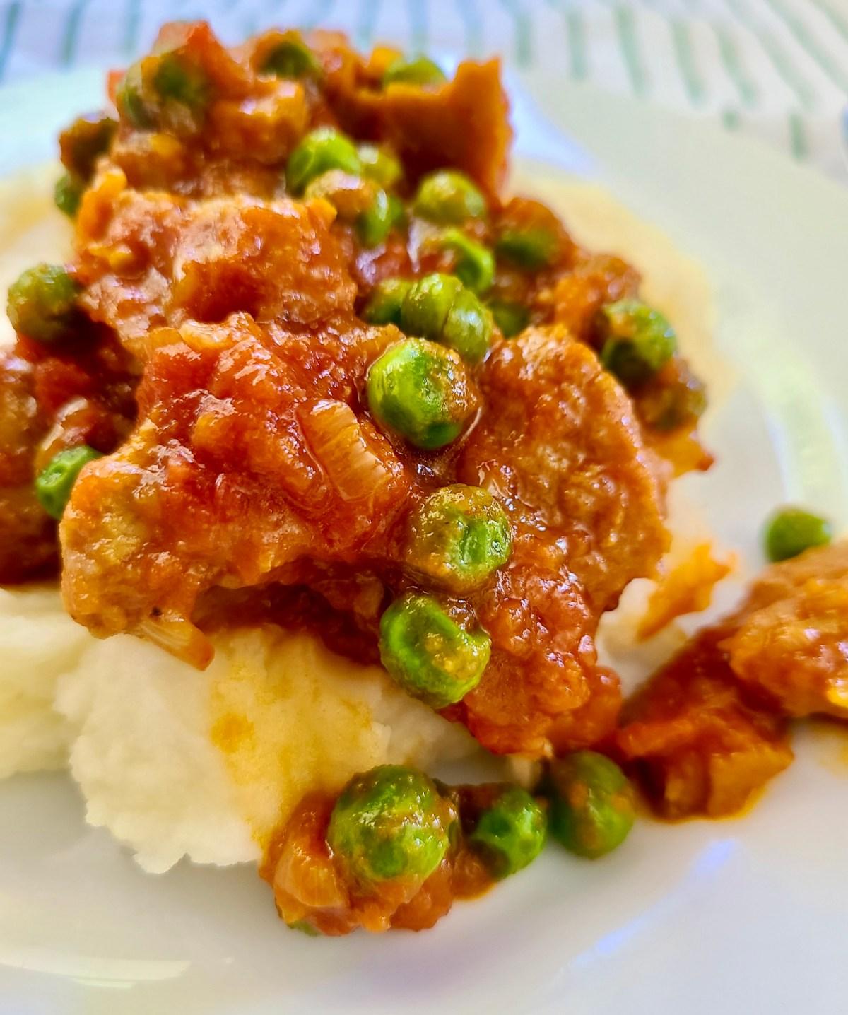 Seitan Dish Vegan