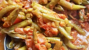Vegan Stewed Green Beans Recipe
