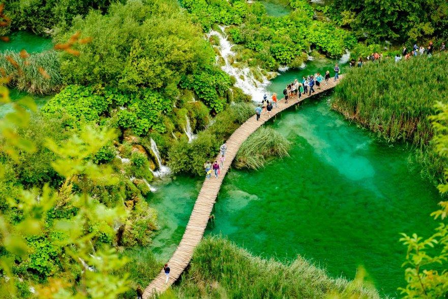 Plitvice Lakes NP, Croatia
