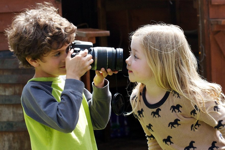 Five tips for teaching your kid photography