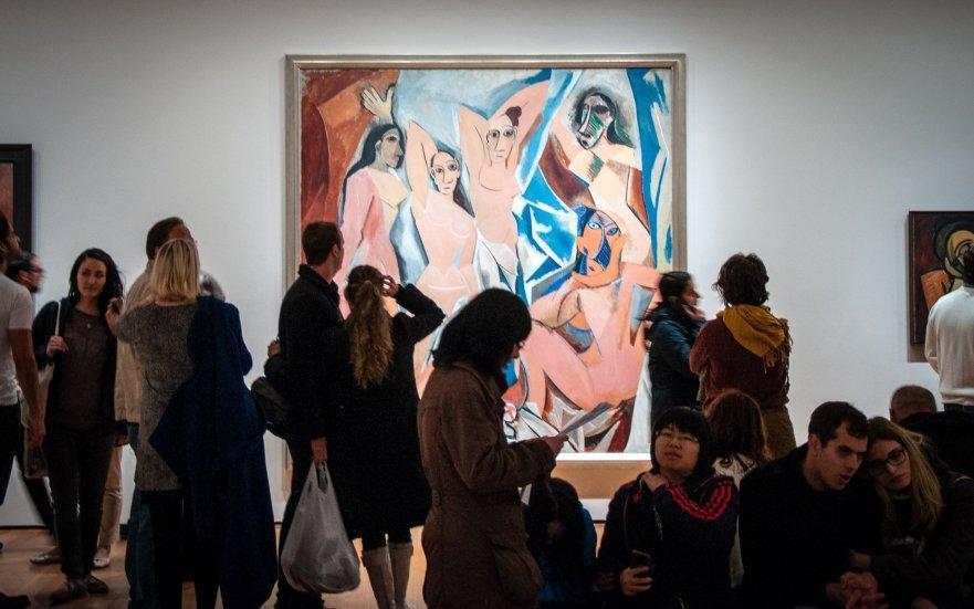 Pablo Picasso, Les Demoiselles d'Avignon, MoMA, New York