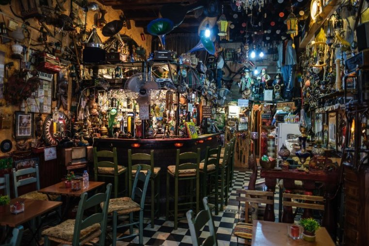 "A really weird ""irish pub"" in the old town"