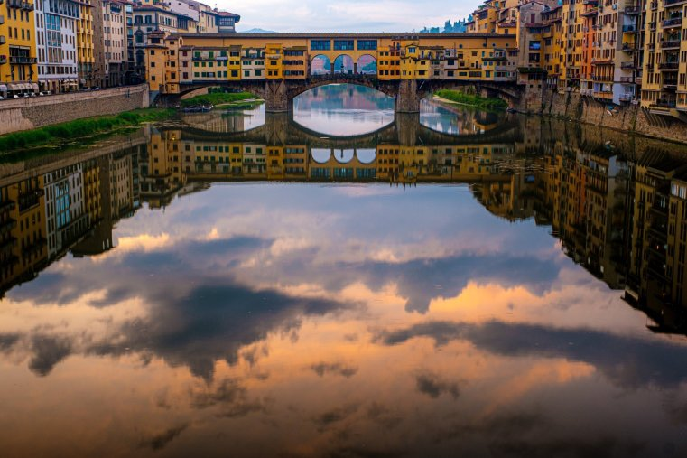 Ponte Vecchio in the morning, Florence