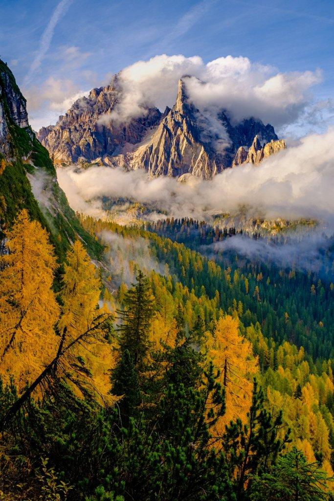 Mount Cristallo