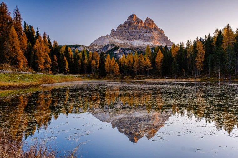 Lake Antorno and the Tre Cime / Drei Zinnen