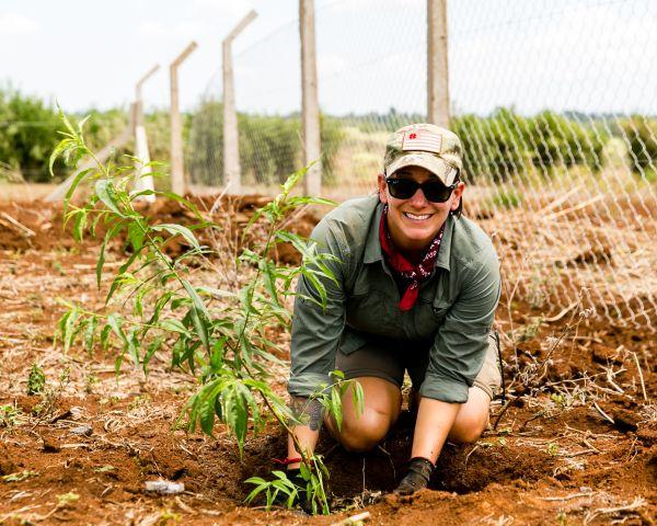 Volunteering, Tree Planting, Tanzania