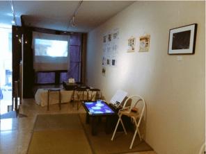 動く展ギャラリー展示