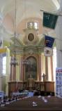Drohiczyn, barokowy kościół p.w. Św. Trójcy