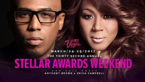 Anthony Brown & Erica Campbell Announced as the Host for the 32nd Annual Stellar Awards