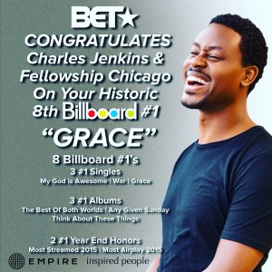 """Charles Jenkins Hits No. 1 With """"Grace""""!"""