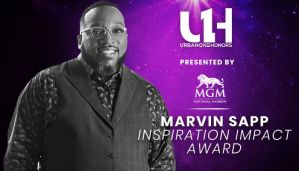 Marvin Sapp to Receive The Inspirational Impact Award during Urban One Honors