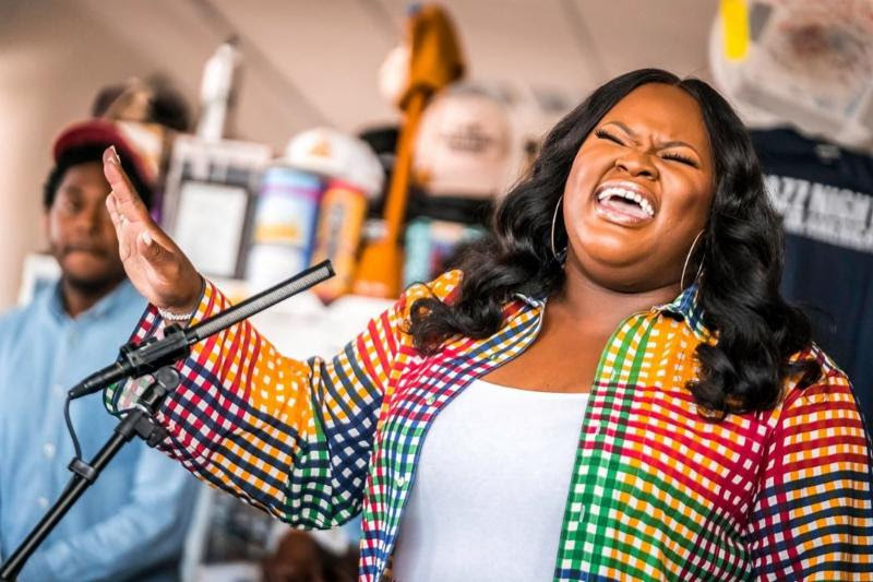 Tasha Cobbs Leonard Performs On NPR's Tiny Desk Concert!