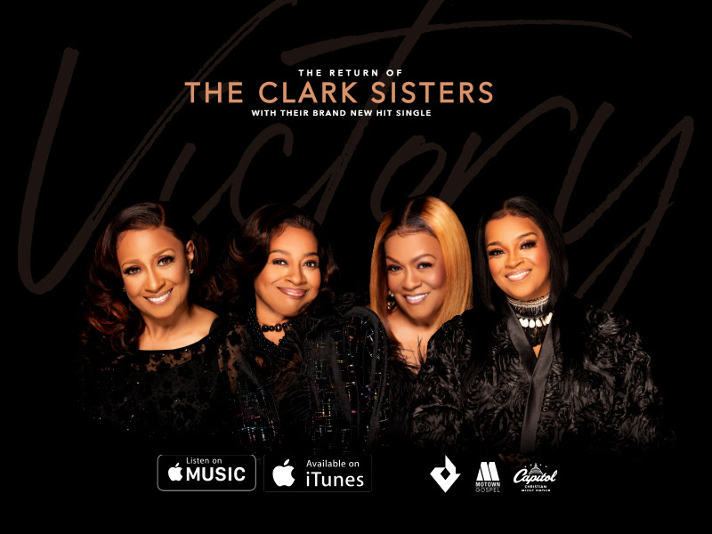 "The Clark Sisters' New Single, ""Victory"", Available Now"