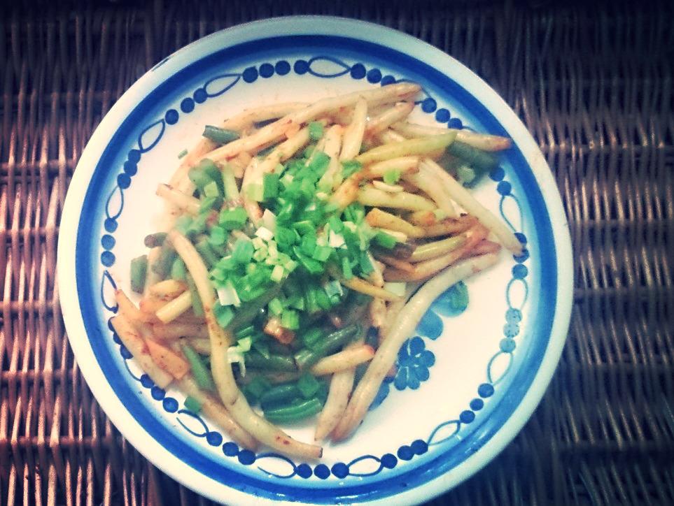 Pikantna fasolka szparagowa