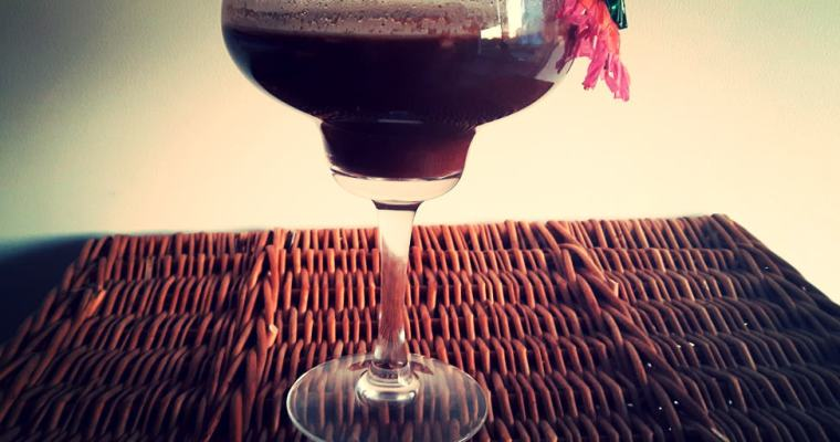 Gorąca czekolada z mleczkiem kokosowym