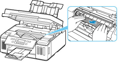 Canon : Inkjet Manuals : G6000 series : Paper Is Jammed