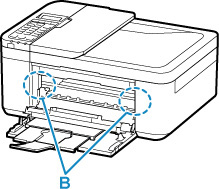 Canon : أدلة Inkjet : TR4500 series : انحشار الورق داخل
