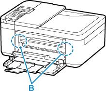 Canon : Manuais Inkjet : TR4500 series : O papel ficou