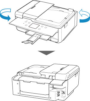 Canon : PIXMA Manuals : TR7500 series : Removing Jammed