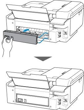 Canon : Manuales de PIXMA : TR7500 series : Extracción del