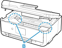 Canon : Inkjet Manuals : TS9500 series : Paper Is Jammed