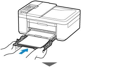 Canon : Inkjet 설명서 : E4200 series : 보통 용지 로드하기