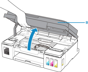 Canon : Inkjet Manuals : G3010 series : Refilling Ink Tanks