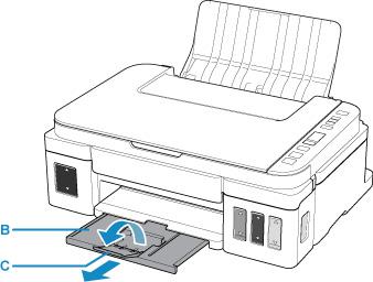 Canon : คู่มือ Inkjet : G3010 series : การพิมพ์ภาพถ่ายจาก