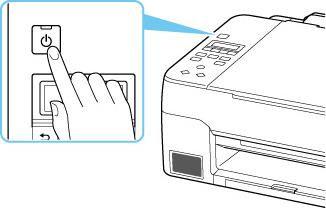 Canon : Manuales de Inkjet : G3060 series : Encendido y