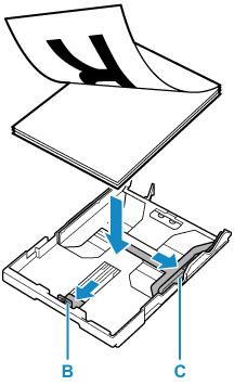 Canon : Inkjet-Handbücher : G5000 series : Einlegen von