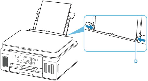 Canon : Inkjet Manuals : G6000 series : Loading Paper in