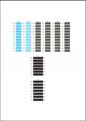 Canon : PIXMA Manuals : MG7700 series : Aligning the Print