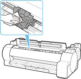 Canon : Manuais imagePROGRAF : TA-20 : Substituição da