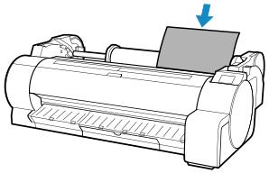 Canon : Manuales de imagePROGRAF : TA-30 : Carga de hojas